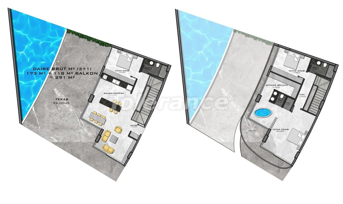 Комплекс премиум-класса, всего в 200 метрах от моря - 27956 | Tolerance Homes