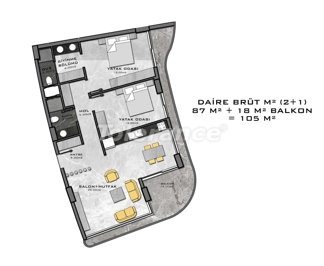 Комплекс премиум-класса, всего в 200 метрах от моря - 27943 | Tolerance Homes
