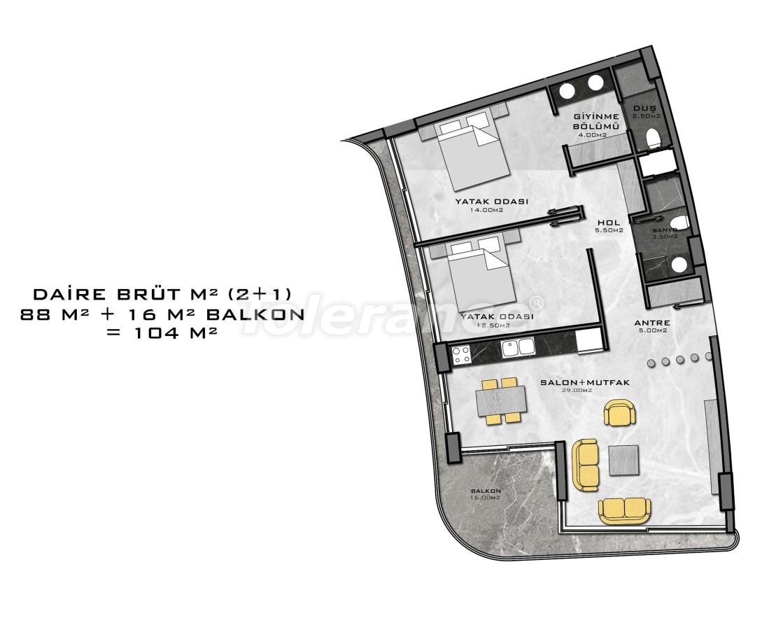 Комплекс премиум-класса, всего в 200 метрах от моря - 27941 | Tolerance Homes