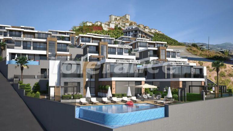 Роскошные виллы в Алании  c гаражом и частным бассейном - 27978 | Tolerance Homes