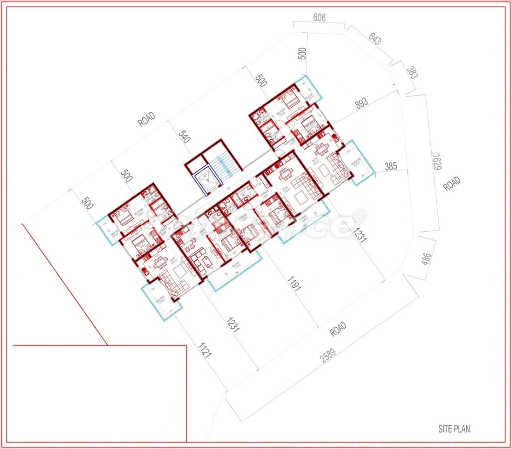 Роскошные виллы в Алании  c гаражом и частным бассейном - 28000 | Tolerance Homes