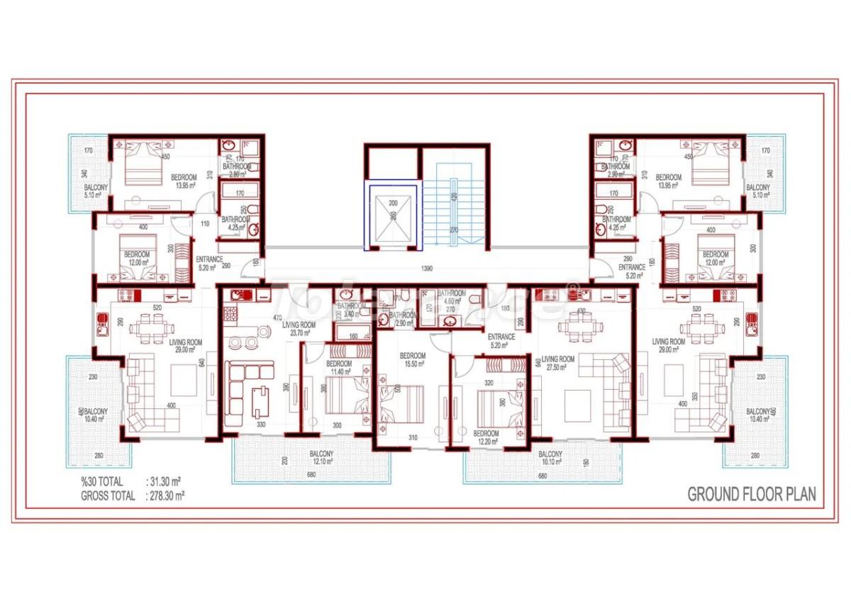 Квартиры в современном комплексе с рассрочкой на 3 года - 28012 | Tolerance Homes