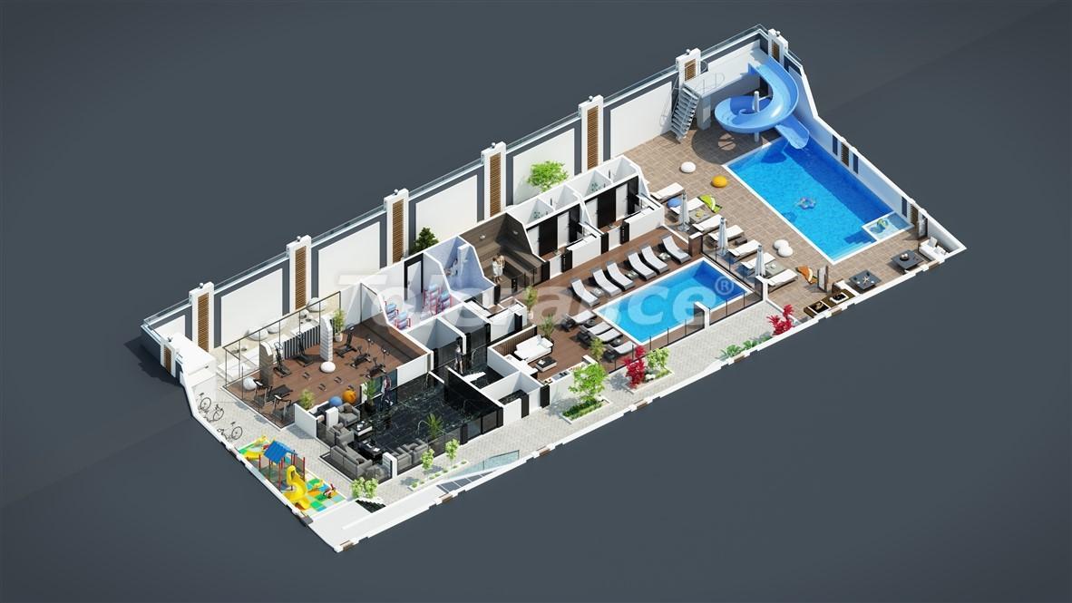 Новые недорогие апартаменты в Махмутларе недалеко от моря - 28087 | Tolerance Homes