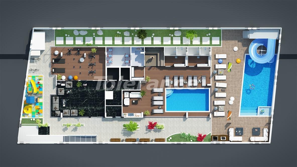 Новые недорогие апартаменты в Махмутларе недалеко от моря - 28086 | Tolerance Homes