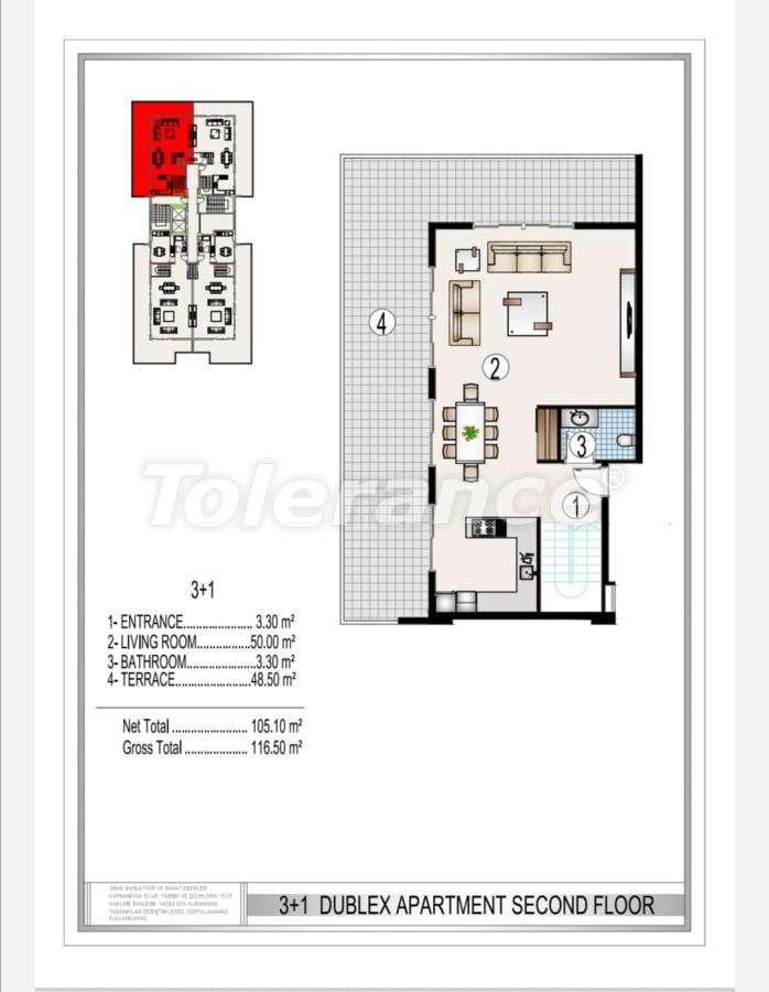 Элитный комплекс в центре Махмутлара, всего 50 м до пляжа - 28180 | Tolerance Homes