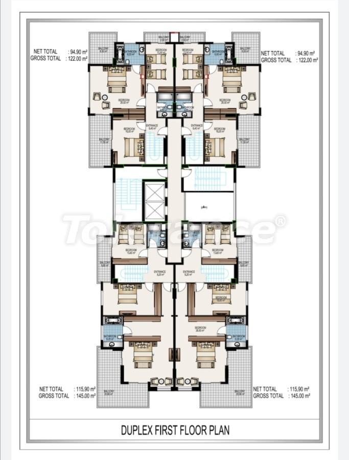 Элитный комплекс в центре Махмутлара, всего 50 м до пляжа - 28192 | Tolerance Homes