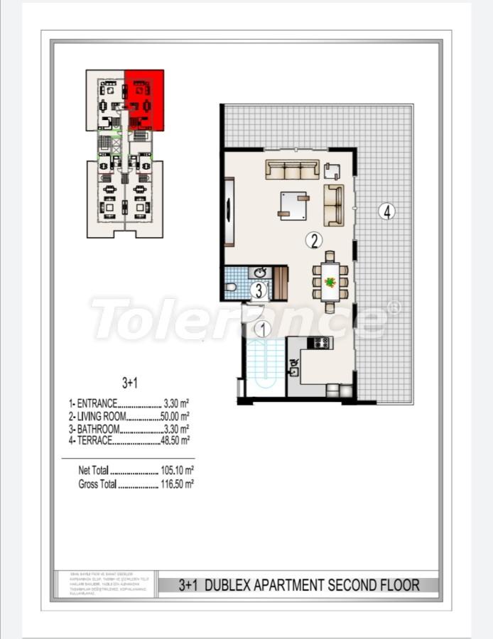 Элитный комплекс в центре Махмутлара, всего 50 м до пляжа - 28187 | Tolerance Homes