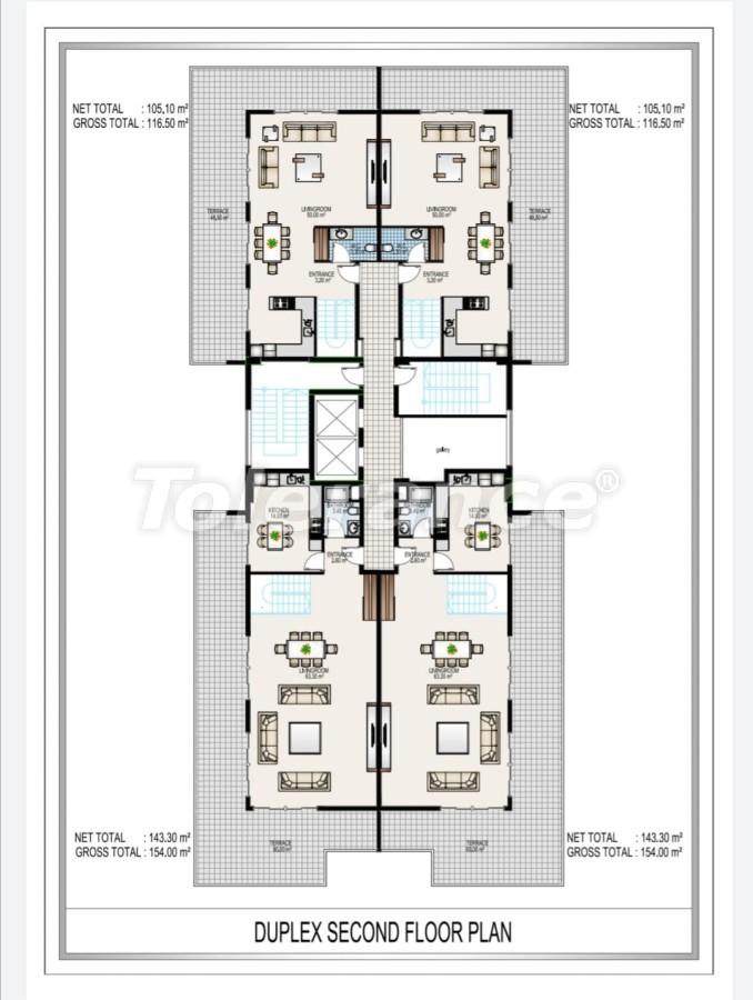 Элитный комплекс в центре Махмутлара, всего 50 м до пляжа - 28191 | Tolerance Homes