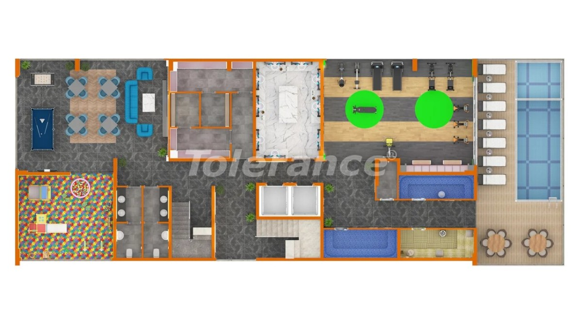 Перспективный инвестиционный проект в Махмутларе - 28288   Tolerance Homes