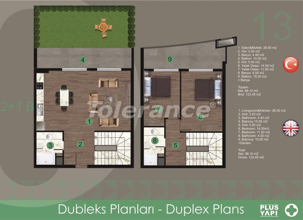 Современные квартиры в Оба, от надежного застройщика с рассрочкой - 28722 | Tolerance Homes