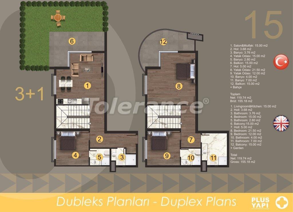 Современные квартиры в Оба, от надежного застройщика с рассрочкой - 28724 | Tolerance Homes