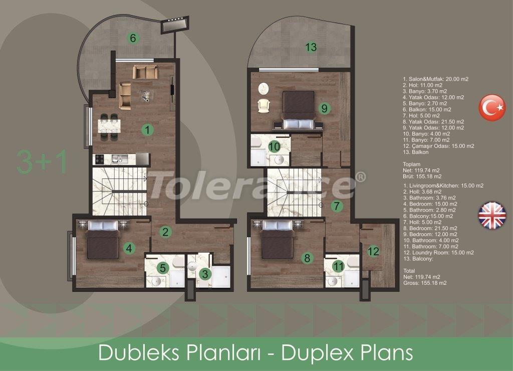 Современные квартиры в Оба, от надежного застройщика с рассрочкой - 28725 | Tolerance Homes