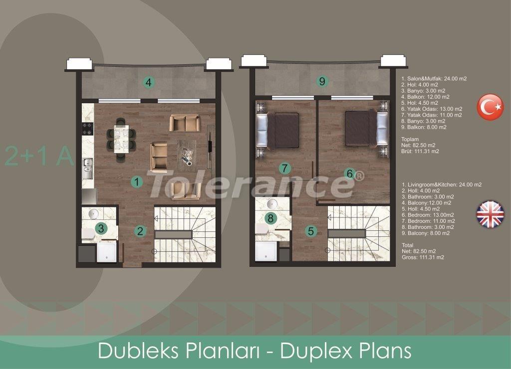 Современные квартиры в Оба, от надежного застройщика с рассрочкой - 28720 | Tolerance Homes