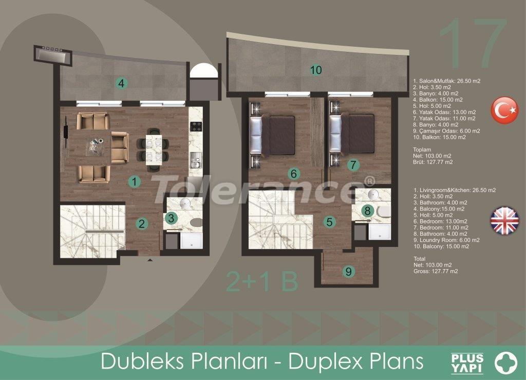 Современные квартиры в Оба, от надежного застройщика с рассрочкой - 28723 | Tolerance Homes