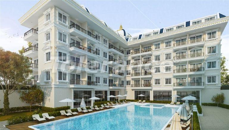 Новые апартаменты в Oба в комплексе с бассейном - 28471 | Tolerance Homes