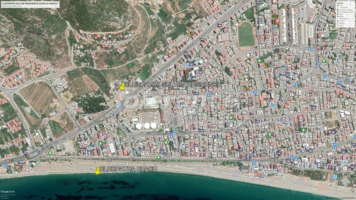 Элитные апартаменты в Алании рядом с пляжем Клеопатра - 28567 | Tolerance Homes