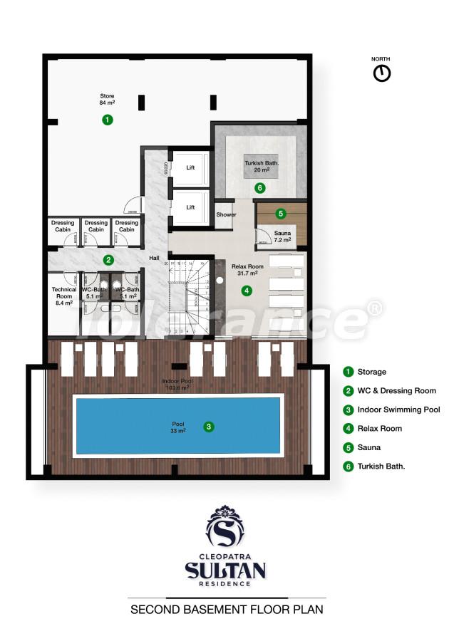 Элитные апартаменты в Алании рядом с пляжем Клеопатра - 28560 | Tolerance Homes
