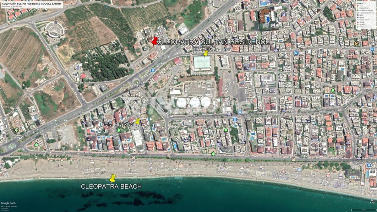 Элитные апартаменты в Алании рядом с пляжем Клеопатра - 28566 | Tolerance Homes