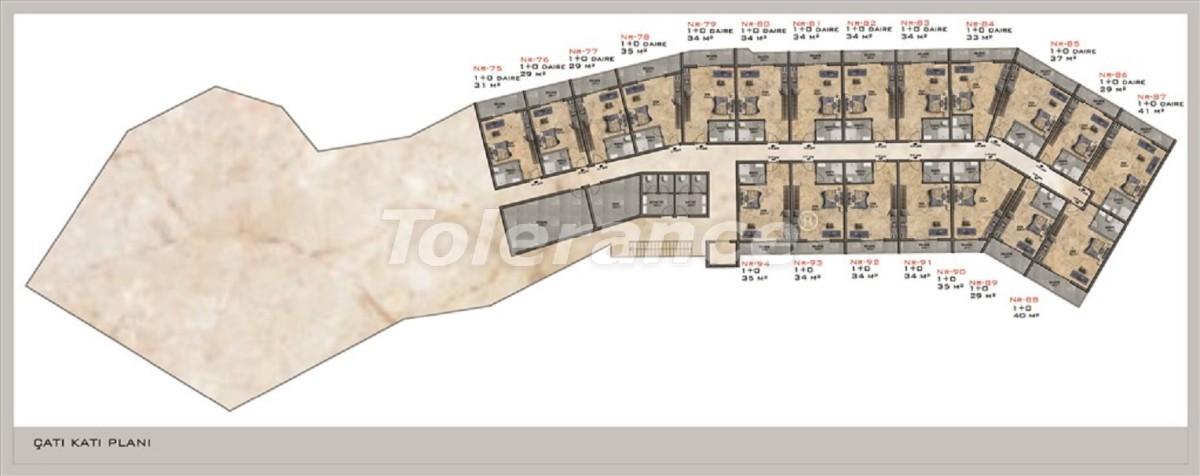 Современные квартиры в Каргыджаке от надежного застройщика с рассрочкой платежа - 28678 | Tolerance Homes