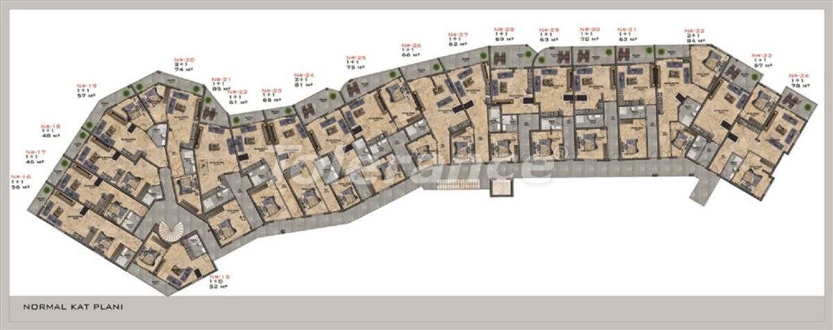 Современные квартиры в Каргыджаке от надежного застройщика с рассрочкой платежа - 28675 | Tolerance Homes