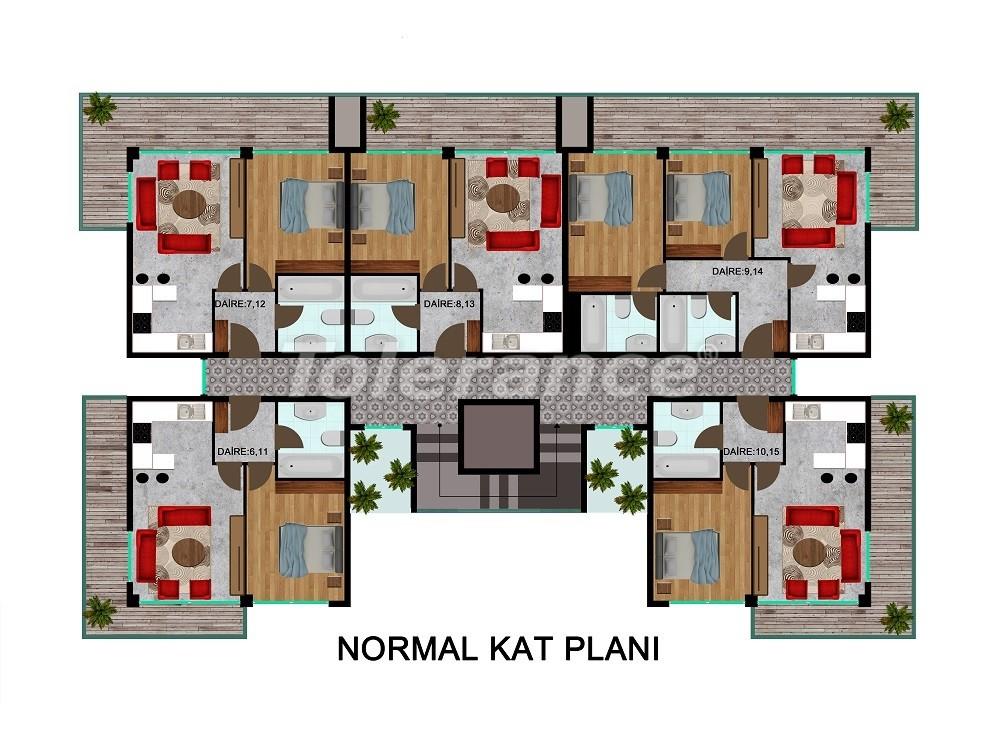 Комфортабельные апартаменты в Каргыджаке, от застройщика - 28714   Tolerance Homes
