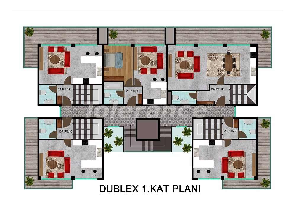 Комфортабельные апартаменты в Каргыджаке, от застройщика - 28715   Tolerance Homes