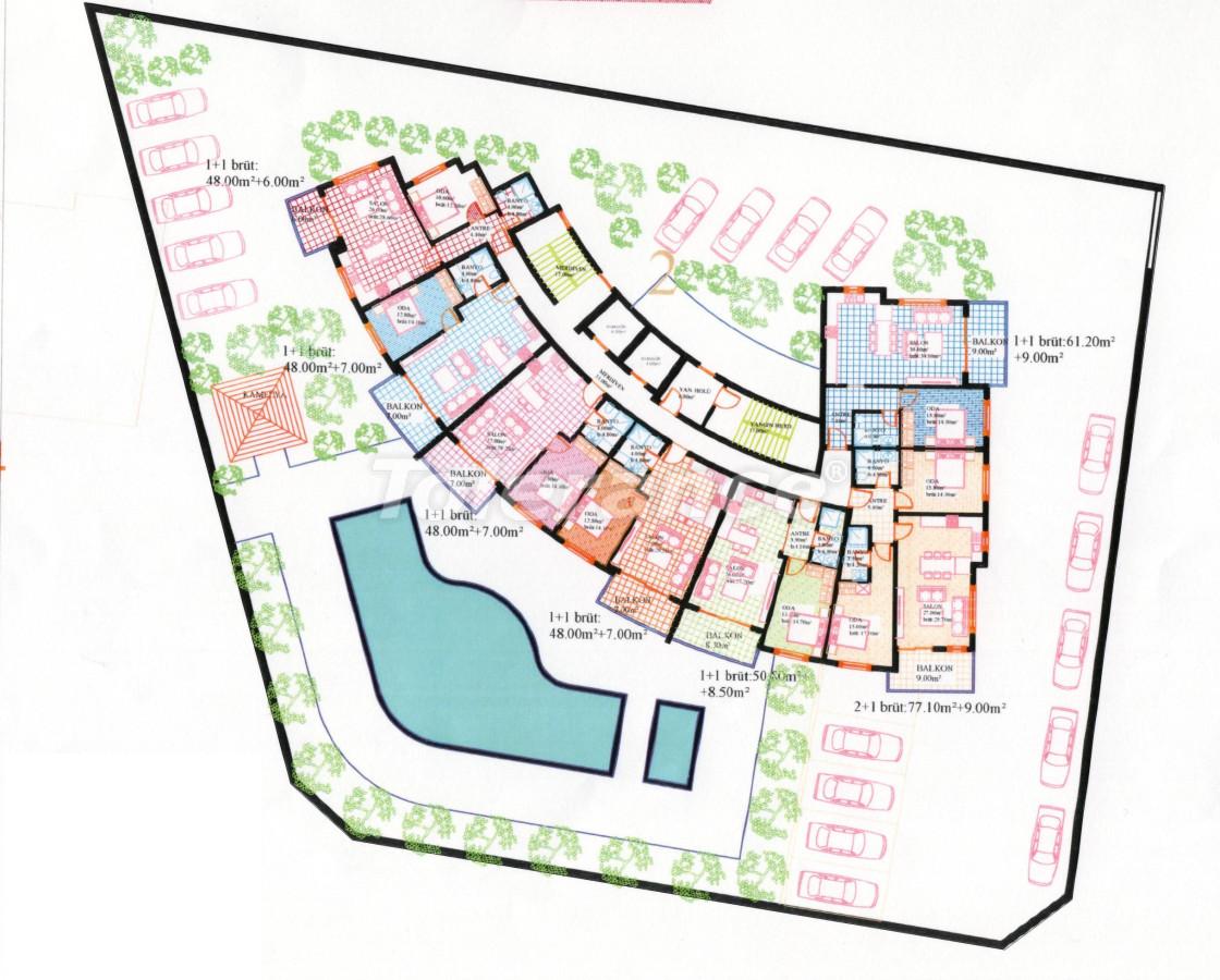 Квартиры в Махмутларе в современном комплексе от застройщика с рассрочкой до 18 месяцев - 28750 | Tolerance Homes