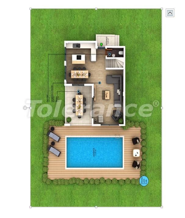 Современные виллы в Фетхие с частным бассейном и видом на горы - 28768 | Tolerance Homes