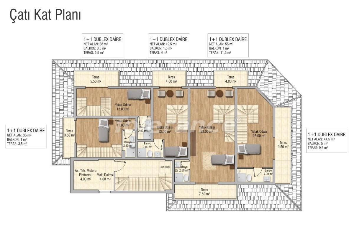 Уютные апартаменты в Махмутларе, Алания - 28834 | Tolerance Homes