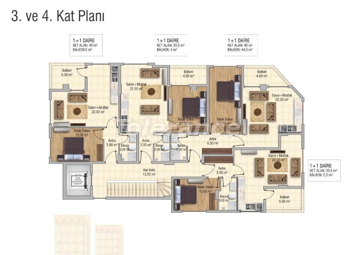 Уютные апартаменты в Махмутларе, Алания - 28833 | Tolerance Homes