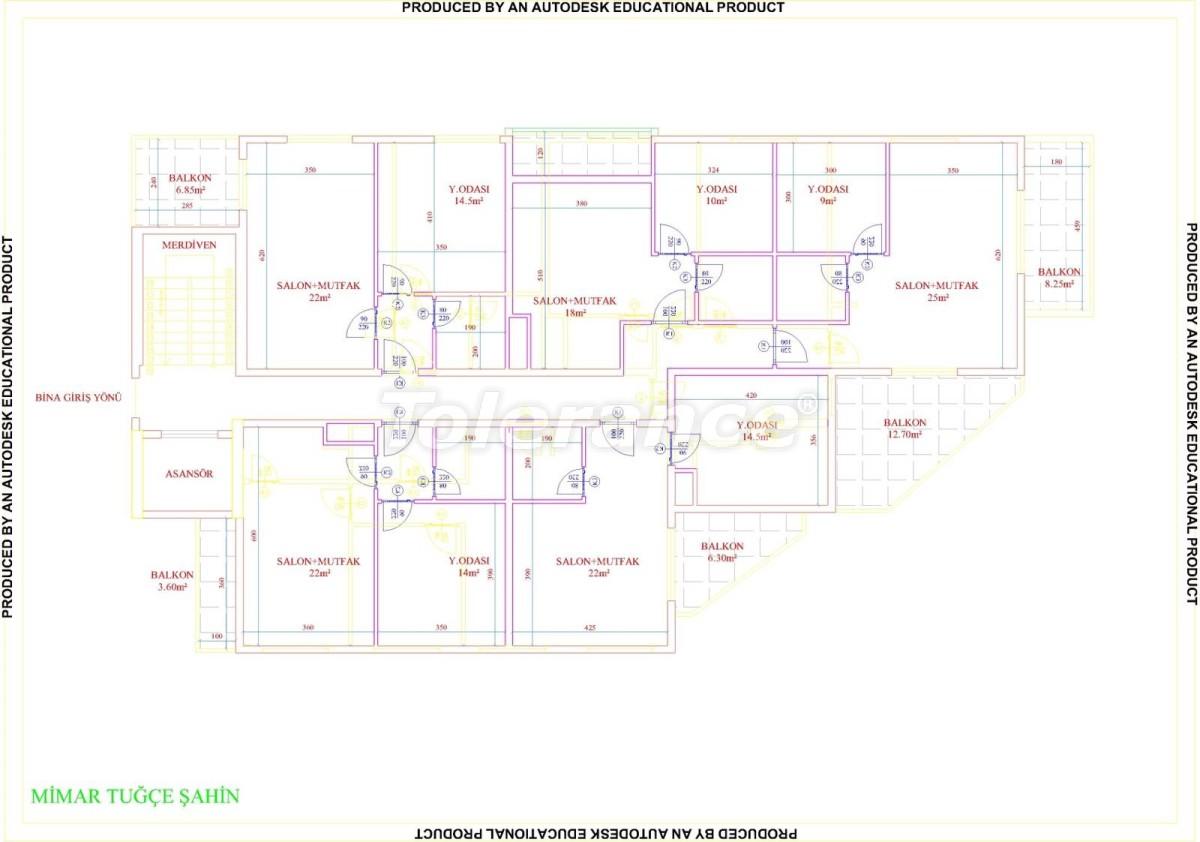 Квартиры в Махмутларе с бассейном от застройщика с рассрочкой до 18 месяцев - 28859 | Tolerance Homes