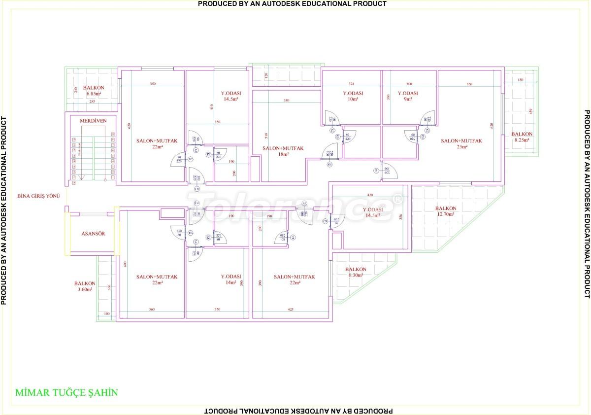 Квартиры в Махмутларе с бассейном от застройщика с рассрочкой до 18 месяцев - 28856 | Tolerance Homes