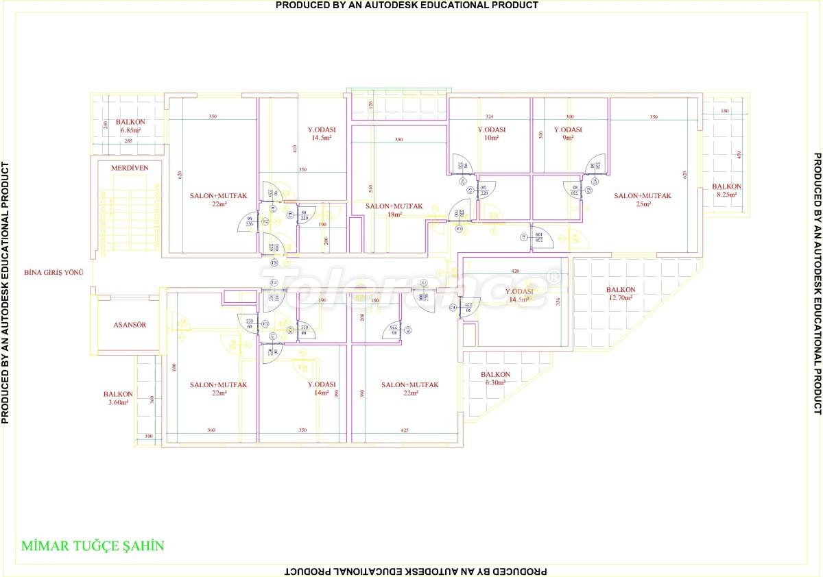 Квартиры в Махмутларе с бассейном от застройщика с рассрочкой до 18 месяцев - 28854 | Tolerance Homes