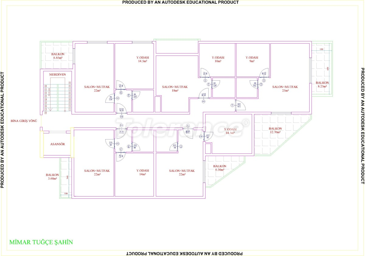 Квартиры в Махмутларе с бассейном от застройщика с рассрочкой до 18 месяцев - 28855 | Tolerance Homes