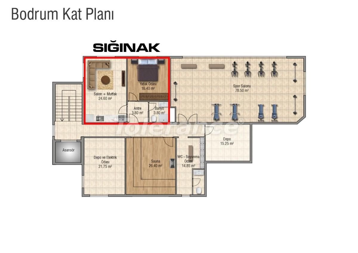 Квартиры в Махмутларе с бассейном от застройщика с рассрочкой до 18 месяцев - 28849 | Tolerance Homes