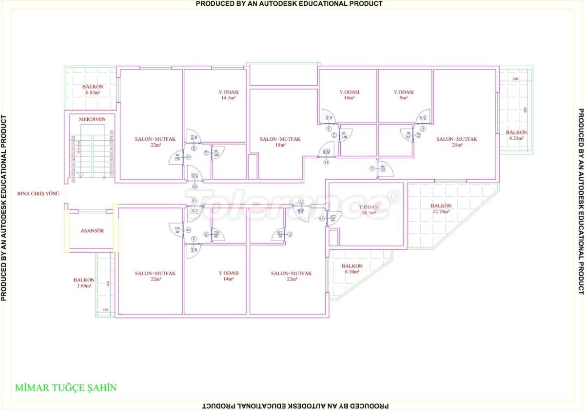 Квартиры в Махмутларе с бассейном от застройщика с рассрочкой до 18 месяцев - 28857 | Tolerance Homes