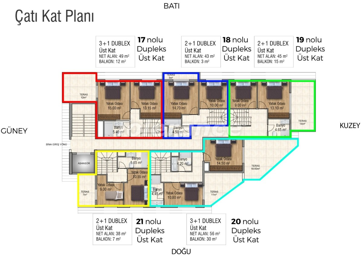 Квартиры в Махмутларе с бассейном от застройщика с рассрочкой до 18 месяцев - 28853 | Tolerance Homes