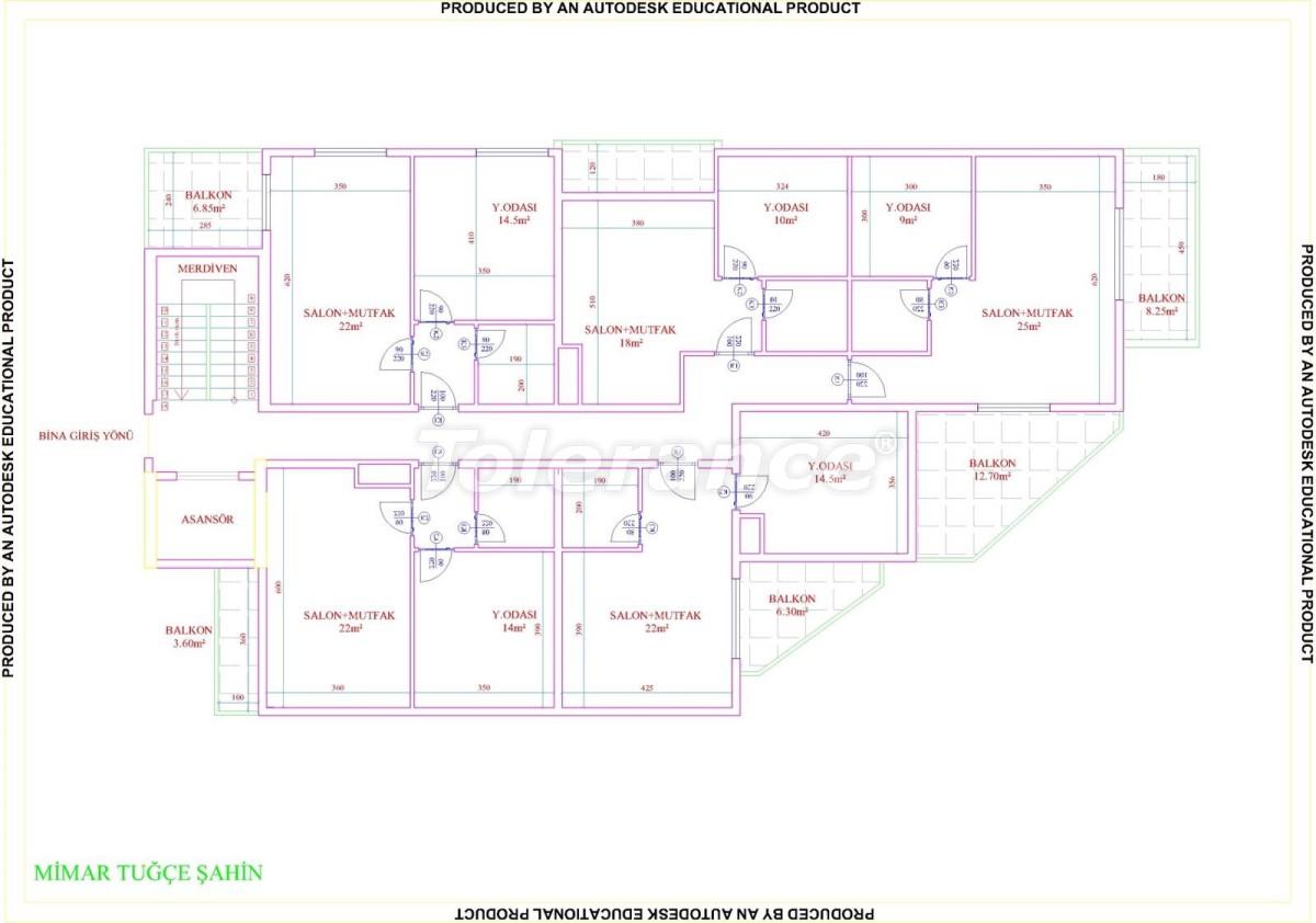 Квартиры в Махмутларе с бассейном от застройщика с рассрочкой до 18 месяцев - 28858 | Tolerance Homes
