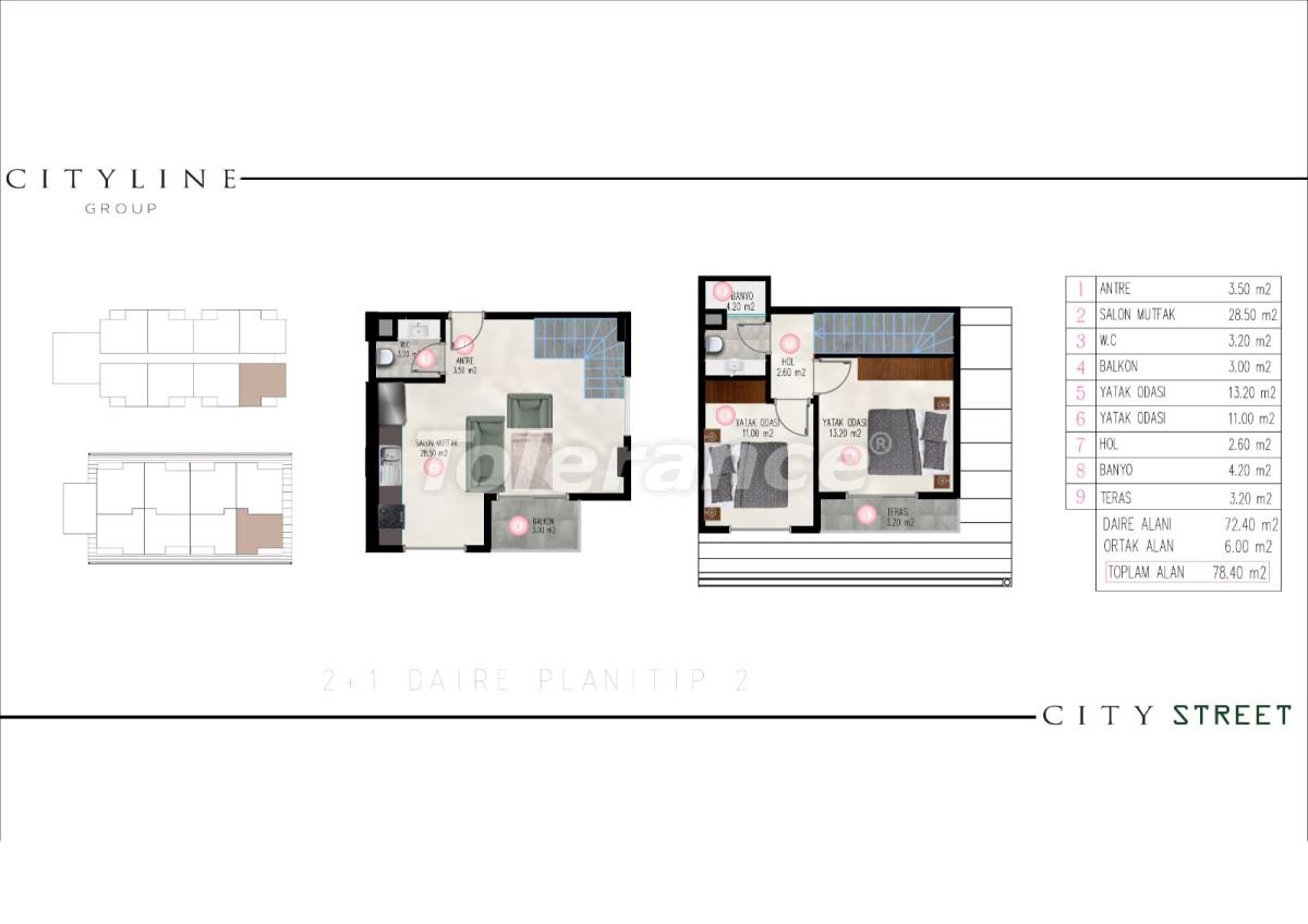 Современные апартаменты в Махмутларе, Алания от надежного застройщика - 28914 | Tolerance Homes