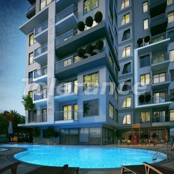 Роскошные современные апартаменты в центре Алании всего в 700 метрах от моря - 28972   Tolerance Homes