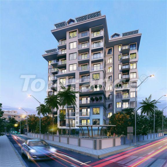 Роскошные современные апартаменты в центре Алании всего в 700 метрах от моря - 28974   Tolerance Homes