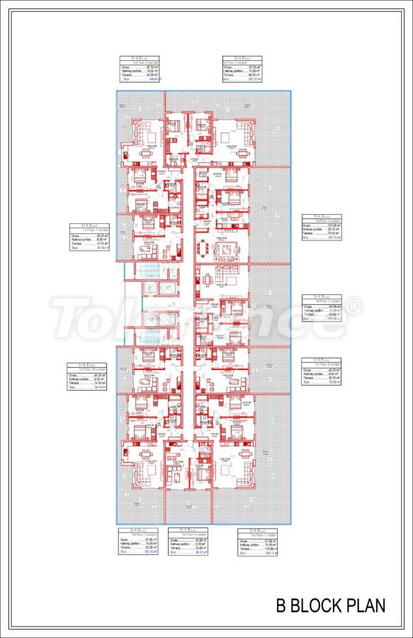 Роскошные апартаменты в Махмутларе, Алания от надежного застройщика в эксклюзивном комплексе - 28997 | Tolerance Homes