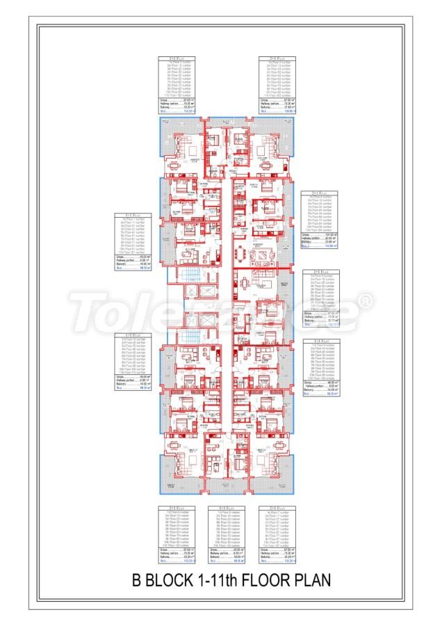 Роскошные апартаменты в Махмутларе, Алания от надежного застройщика в эксклюзивном комплексе - 28996 | Tolerance Homes