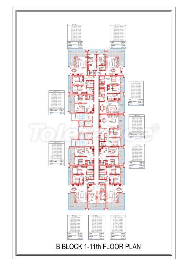 Роскошные апартаменты в Махмутларе, Алания от надежного застройщика в эксклюзивном комплексе - 28998 | Tolerance Homes