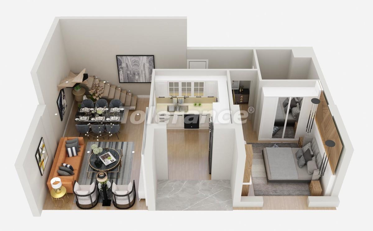 Шикарные квартиры в Лимане, Коньяалты от застройщика всего в 900 метрах от моря - 29931 | Tolerance Homes