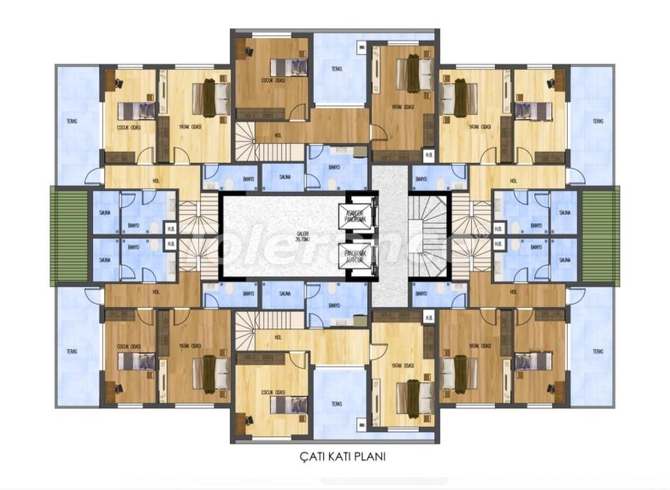 Шикарные квартиры в Лимане, Коньяалты от застройщика всего в 900 метрах от моря - 29888 | Tolerance Homes