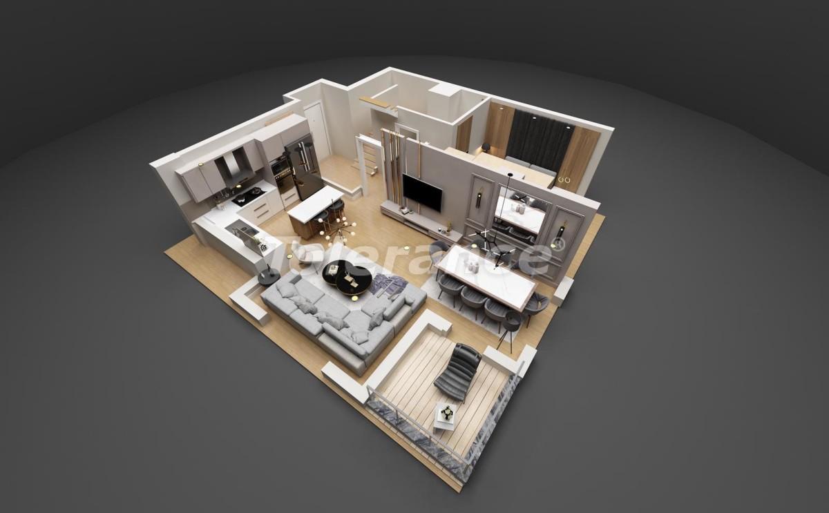 Шикарные квартиры в Лимане, Коньяалты от застройщика всего в 900 метрах от моря - 29933 | Tolerance Homes
