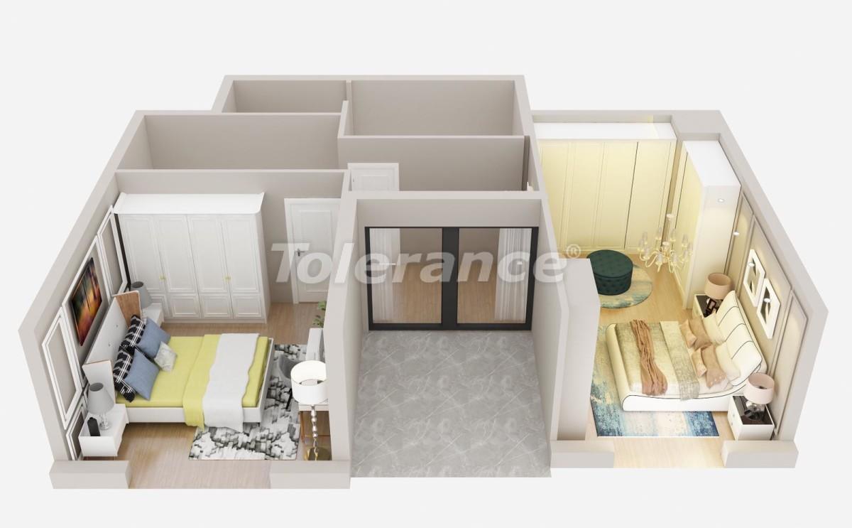 Шикарные квартиры в Лимане, Коньяалты от застройщика всего в 900 метрах от моря - 29932 | Tolerance Homes