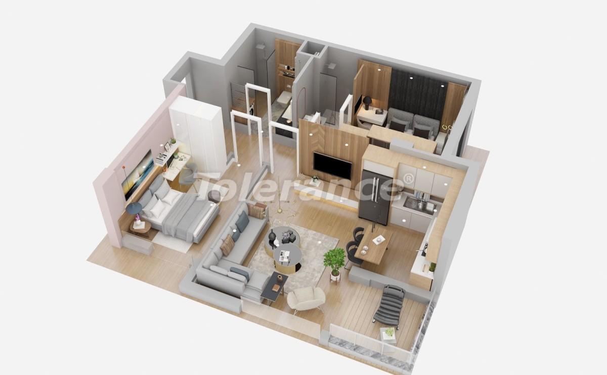 Шикарные квартиры в Лимане, Коньяалты от застройщика всего в 900 метрах от моря - 29934 | Tolerance Homes
