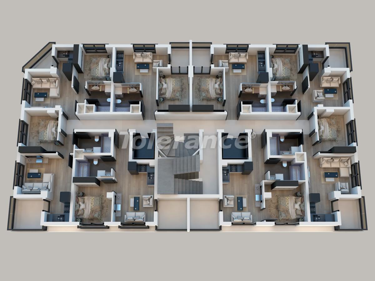 Современные квартиры в Сарысу, Коньяалты от надежного застройщика в рассрочку - 29954   Tolerance Homes
